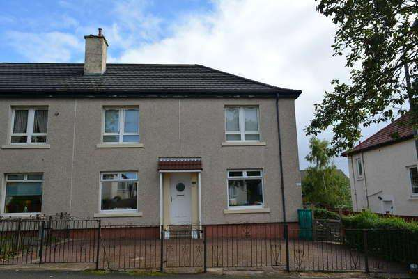 2 Bedrooms Flat for sale in 72 Hermitage Avenue, Glasgow, G13 3QP