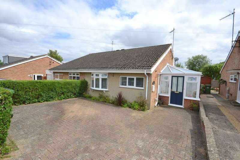 2 Bedrooms Semi Detached Bungalow for sale in Westlea Road, Sywell, Northampton, NN6