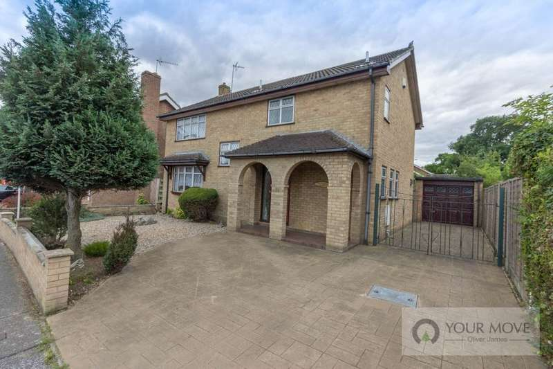 4 Bedrooms Detached House for sale in Long Meadow Walk, Carlton Colville, Lowestoft, NR33