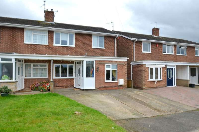 3 Bedrooms Semi Detached House for sale in Fitzwilliam Drive, Barton Seagrave, Kettering, NN15