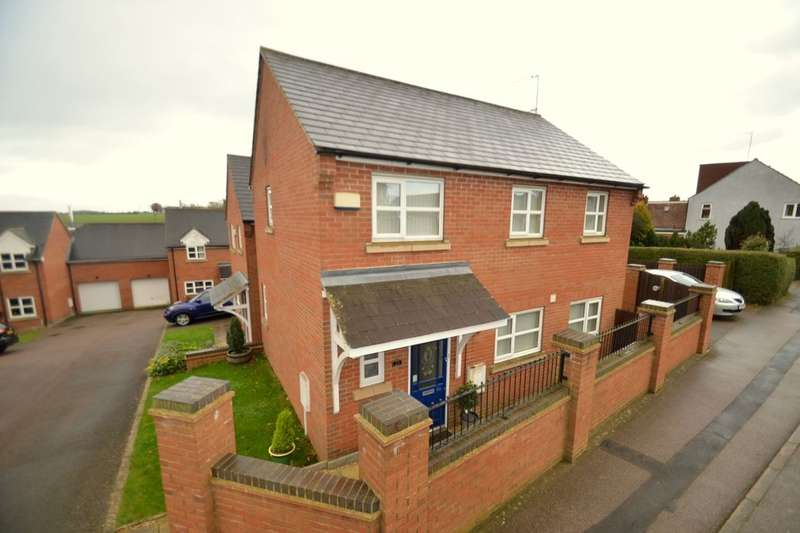 3 Bedrooms Detached House for sale in Kettering Road, Broughton, Kettering, NN14