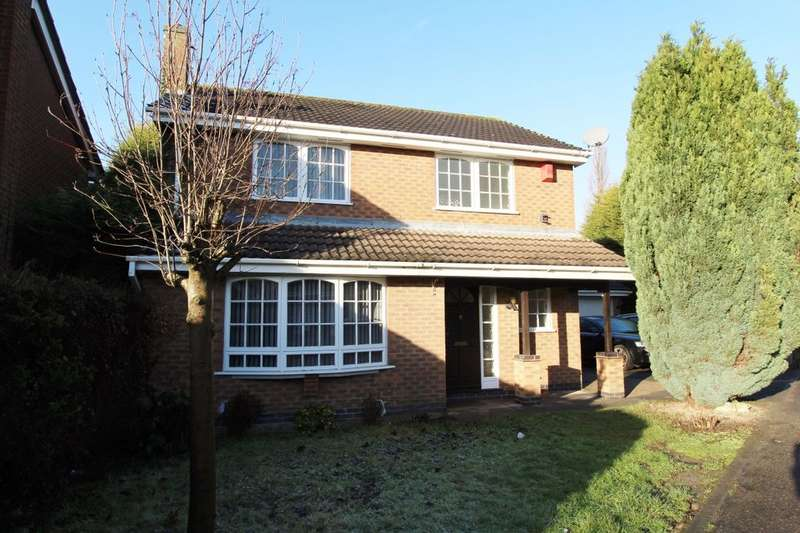 4 Bedrooms Detached House for rent in Charlbury Court, Bramcote, Nottingham, NG9