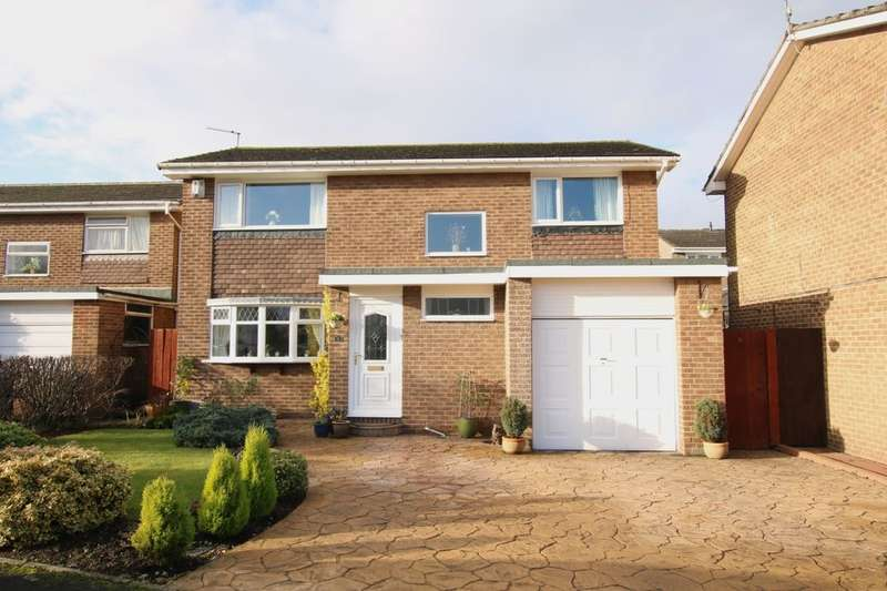 4 Bedrooms Detached House for sale in Mitford Close, Washington, NE38