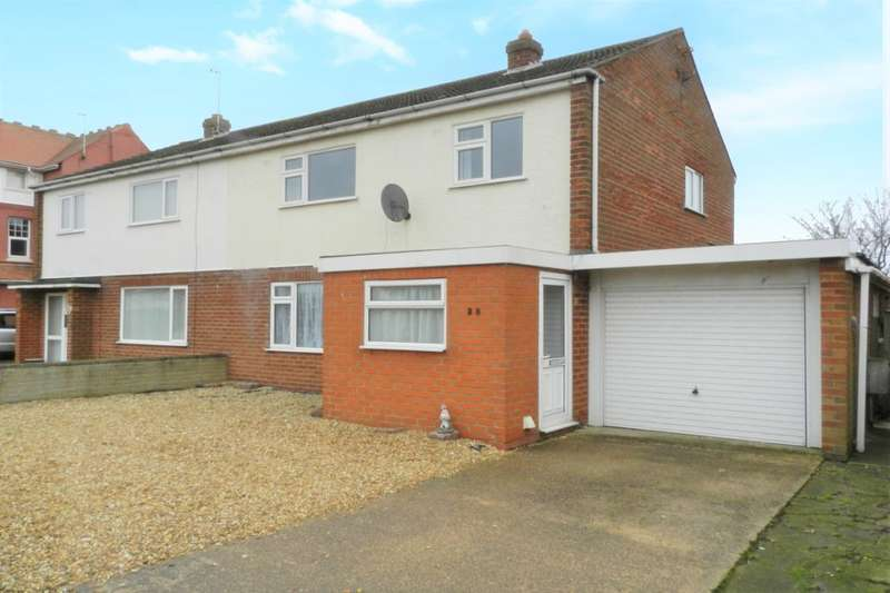 3 Bedrooms Semi Detached House for sale in Trusthorpe Road, Sutton-On-Sea, Mablethorpe, LN12