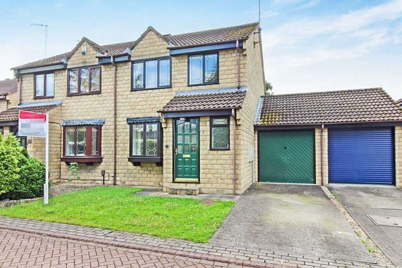 3 Bedrooms Semi Detached House for sale in Green Lea Close, Boston Spa, Wetherby, LS23