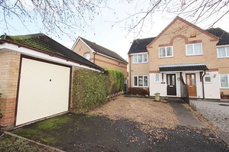 3 Bedrooms Semi Detached House for rent in Mornington Crescent, Nuthall, Nottingham, NG16