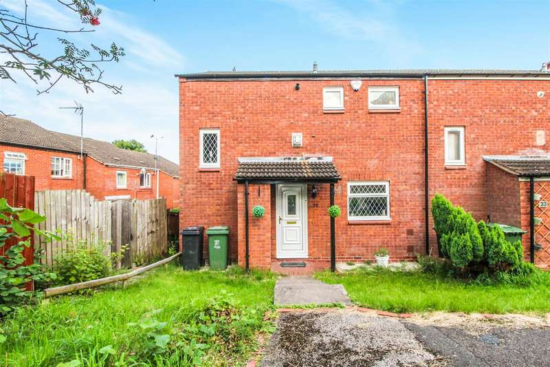 3 Bedrooms End Of Terrace House for sale in Patch Lane, Redditch
