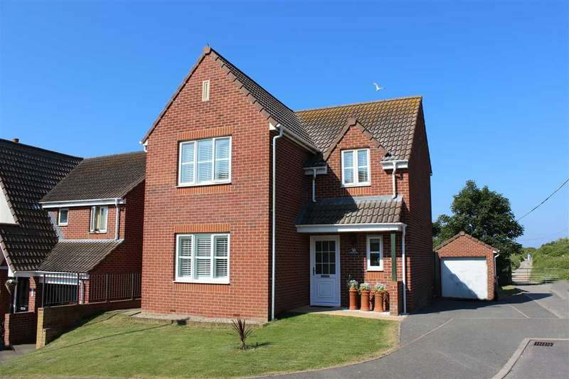 4 Bedrooms Detached House for sale in Hilltop Way, Newhaven