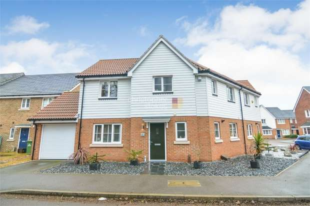 3 Bedrooms Semi Detached House for sale in Aldermere Avenue, Cheshunt, WALTHAM CROSS, Hertfordshire