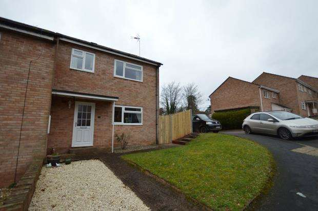 3 Bedrooms End Of Terrace House for sale in Beech Park, Crediton, Devon