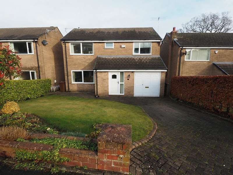 4 Bedrooms Detached House for sale in Linglongs Avenue, Whaley Bridge, High Peak, Derbyshire, SK23 7DT