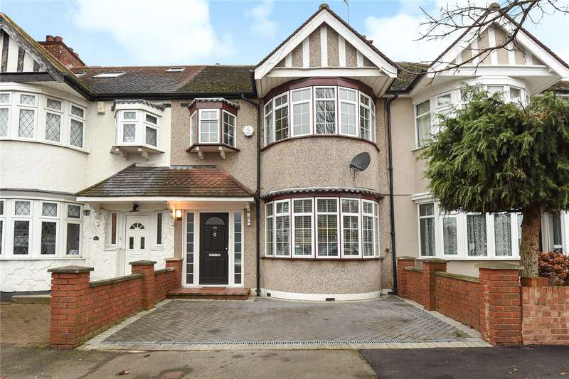 3 Bedrooms Terraced House for sale in Cornwall Road, Ruislip Manor, Middlesex, HA4