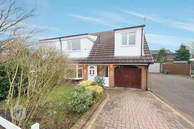4 Bedrooms Semi Detached House for sale in Ettington Close, Bury, BL8