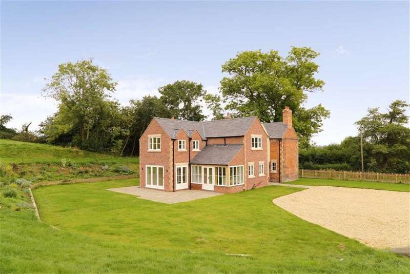 4 Bedrooms Detached House for sale in Hollywell House, Stanwardine, Baschurch, SY4