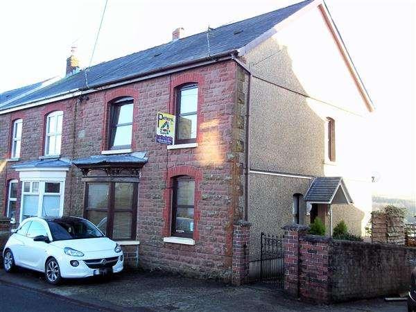 3 Bedrooms Semi Detached House for sale in Llandeilo Road, BRYNAMMAN, Ammanford