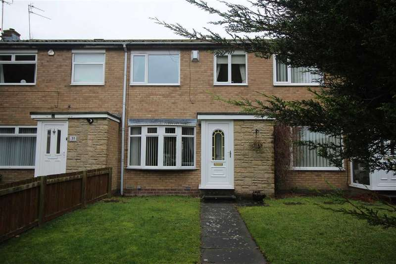 3 Bedrooms Terraced House for sale in Kirkbride Place, Eastfield Dale, Cramlington