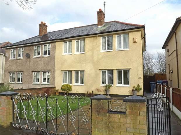 3 Bedrooms Semi Detached House for sale in Wapshare Road, Liverpool, Merseyside