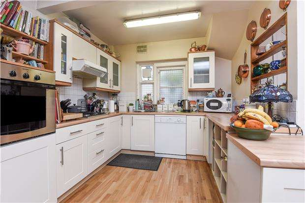 4 Bedrooms End Of Terrace House for sale in Queen Annes Gardens, MITCHAM, Surrey, CR4 3AN