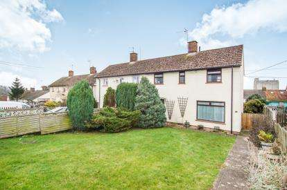 2 Bedrooms Semi Detached House for sale in Oakfield Way, Sharpness, Berkeley, Gloucestershire