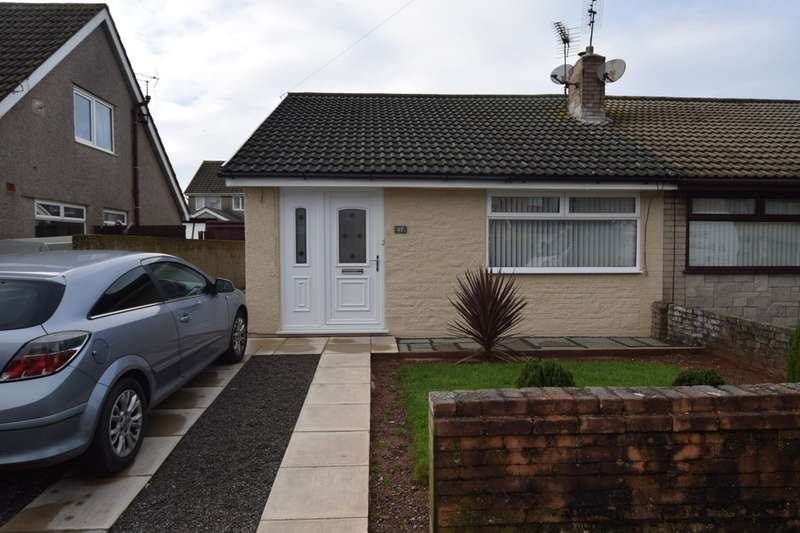 3 Bedrooms Semi Detached Bungalow for sale in Langdale Crescent, Dalton-in-Furness, Cumbria, LA15 8NS