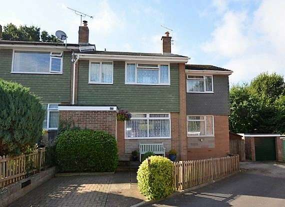 4 Bedrooms End Of Terrace House for sale in Manor Crescent, Honiton