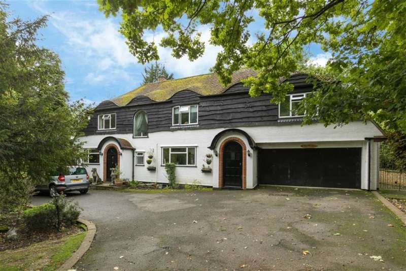 5 Bedrooms Detached House for sale in Rooks Hill, Loudwater Rickmansworth, Hertfordshire, WD3