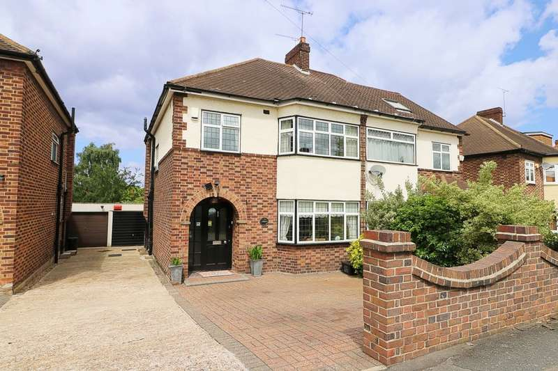 3 Bedrooms Semi Detached House for sale in Summit Drive, Woodford Green, IG8