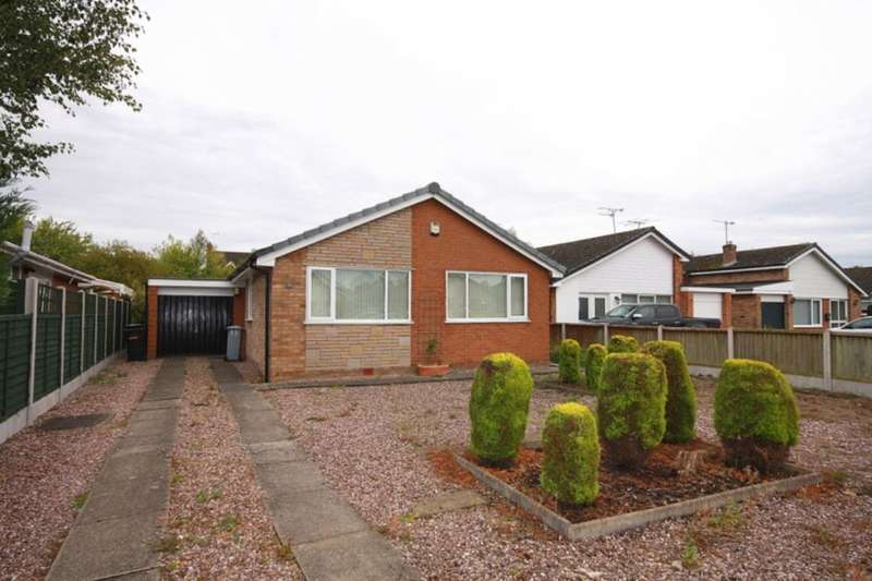 3 Bedrooms Detached Bungalow for sale in Brown Avenue, Nantwich, CW5