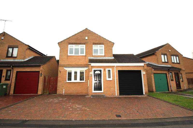 3 Bedrooms Detached House for sale in Parklands, Wardley, Gateshead, NE10