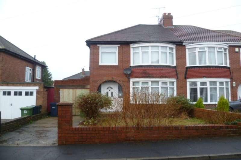 3 Bedrooms Semi Detached House for rent in Plantation Grove, Bill Quay, Gateshead, NE10