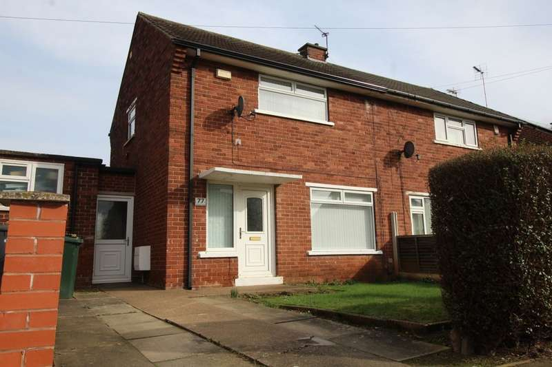 2 Bedrooms Semi Detached House for sale in Warwick Road, Intake, Doncaster, DN2