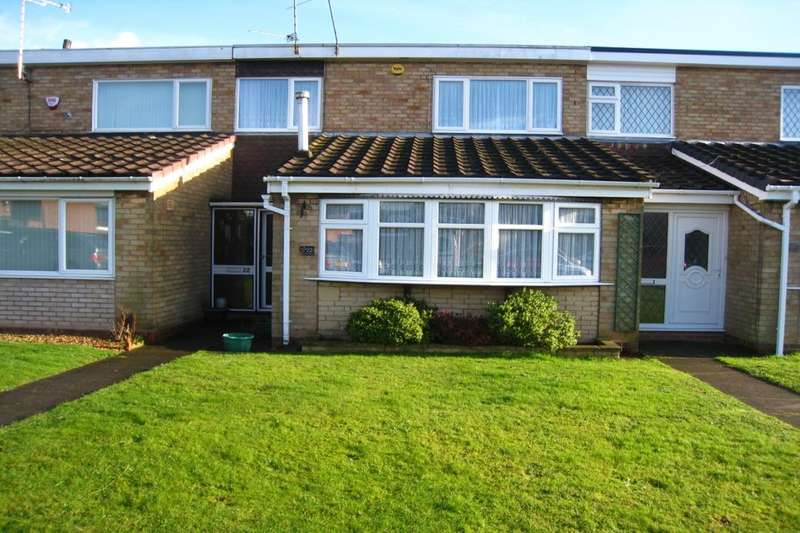 3 Bedrooms Terraced House for sale in Brade Drive, Walsgrave, Coventry, CV2
