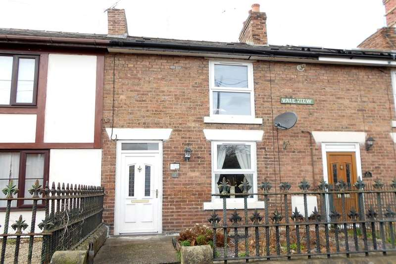 2 Bedrooms Terraced House for sale in Vale View Bottom Road, Summerhill, Wrexham, LL11