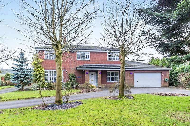 4 Bedrooms Detached House for sale in Bignall End Road, Bignall End, Stoke-On-Trent, ST7
