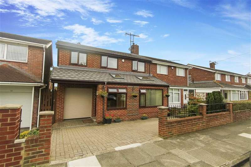 4 Bedrooms Semi Detached House for sale in Acomb Avenue, Seaton Delaval, Tyne And Wear