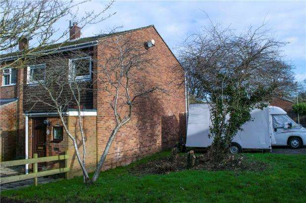 3 Bedrooms End Of Terrace House for sale in Elmhurst, Tadley, Hampshire