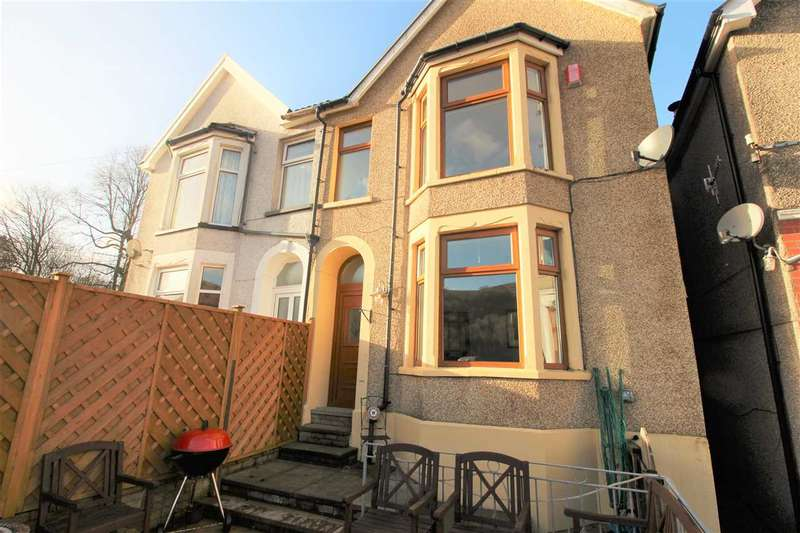 3 Bedrooms Semi Detached House for sale in Delfryn, Ynyshir Road, Porth