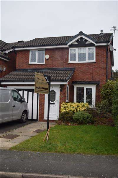 3 Bedrooms Detached House for rent in Wycombe Drive, Astley, Manchester