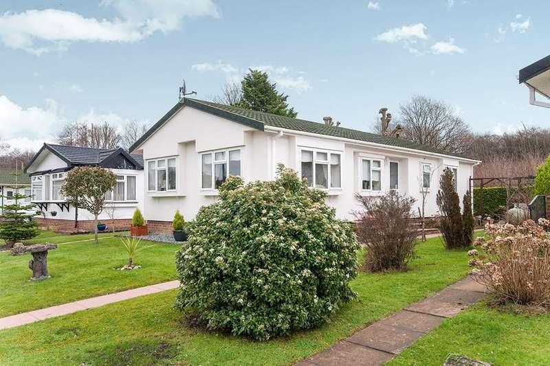 2 Bedrooms Detached Bungalow for sale in Bakers Farm Park Upper Horsebridge, Hailsham, BN27