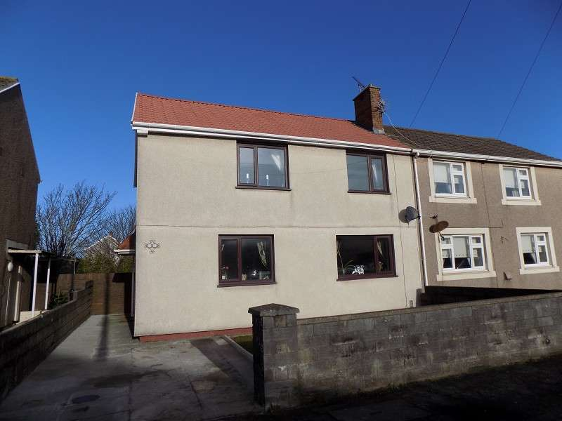3 Bedrooms Semi Detached House for sale in Seaward Avenue, Port Talbot, Neath Port Talbot. SA12 7LT