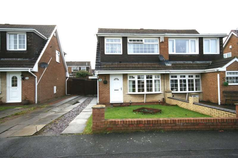 3 Bedrooms Semi Detached House for sale in Kirkwall Close, Fairfield, Stockton-On-Tees, TS19
