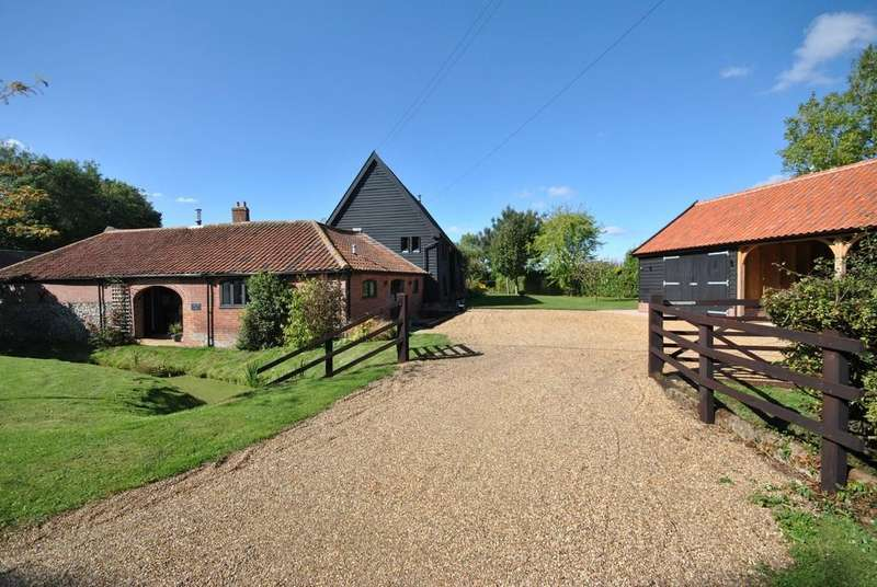 4 Bedrooms Barn Conversion Character Property for sale in Tibenham, Norfolk