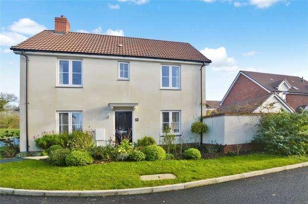 3 Bedrooms Detached House for sale in Webbers Meadow, Woodbury, Exeter, Devon