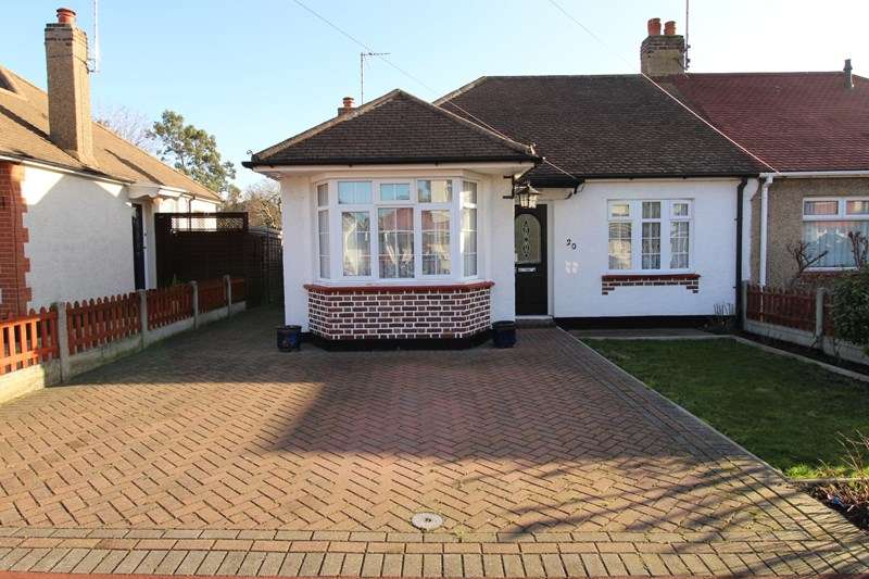 2 Bedrooms Semi Detached Bungalow for sale in Leighcroft Gardens, Leigh-On-Sea
