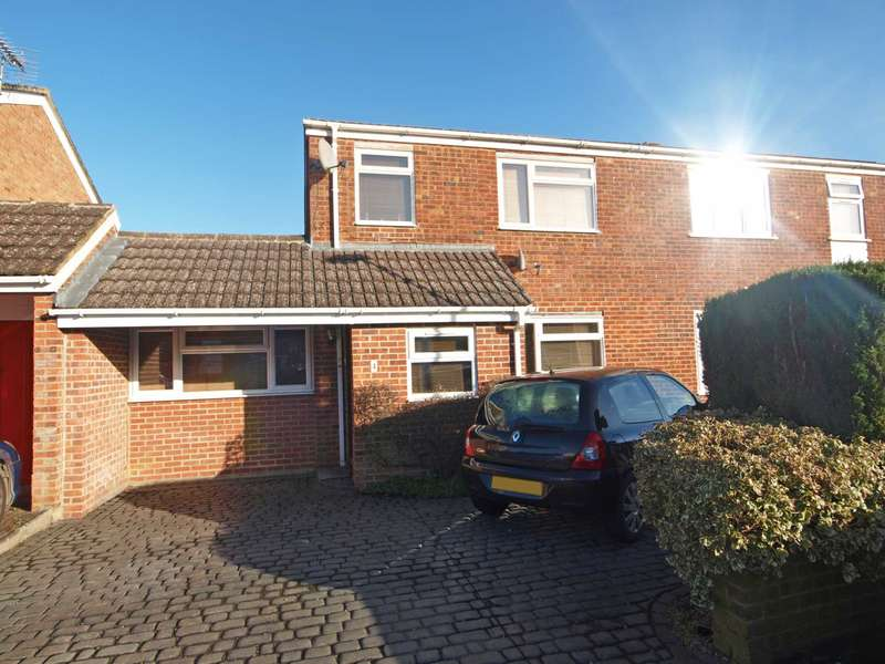 4 Bedrooms Semi Detached House for sale in Huxley Close, Bicester