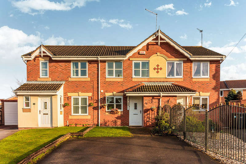 2 Bedrooms Terraced House for rent in Meadowgate, Brampton Bierlow, Rotherham, S63