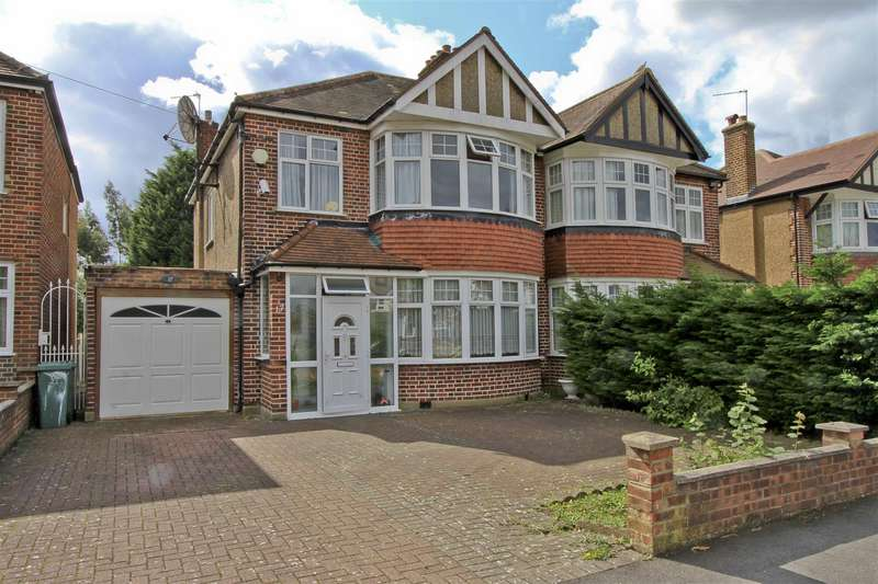 3 Bedrooms Semi Detached House for sale in Hawtrey Drive, Ruislip