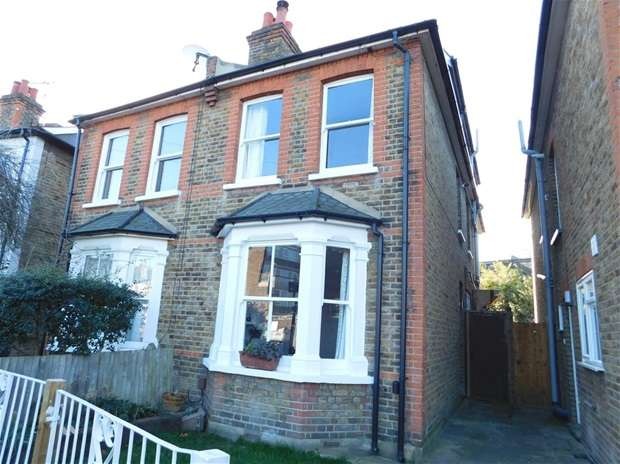 3 Bedrooms Semi Detached House for sale in Rowlls Road, Kingston Upon Thames