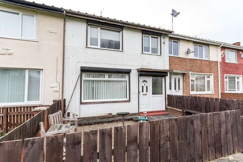 3 Bedrooms Terraced House for sale in Crawcrook Walk, Stockton-on-Tees, County Durham, TS19