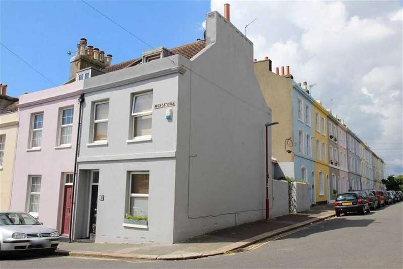 3 Bedrooms End Of Terrace House for sale in Mercatoria, St Leonards On Sea